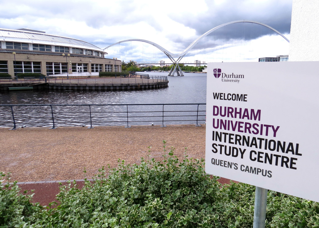 Signage at the Durham University International Study Centre